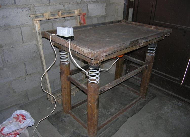 стол для плитки