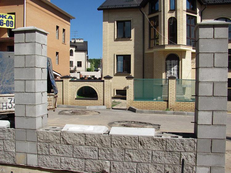 блоки на основе бетона