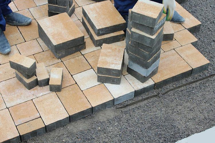 плитка на бетоне