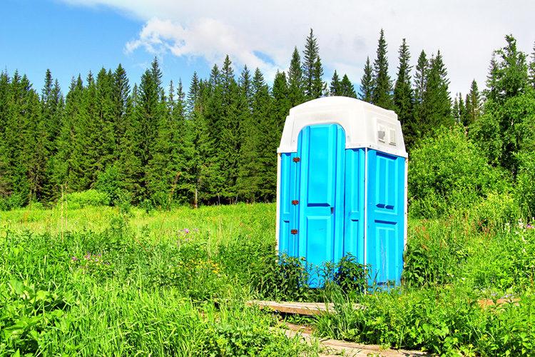 туалет уличный