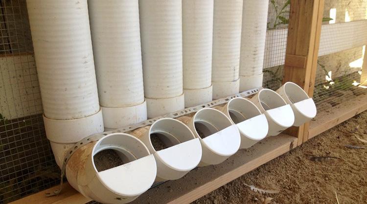 канализационные трубы для птицы