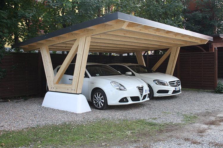 парковка под навесом