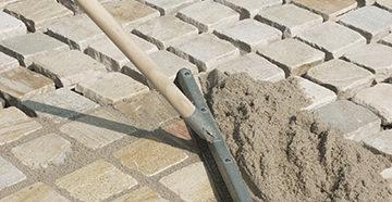 тротуарная плитка - укладка