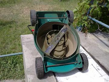 газонокосилка самодельная